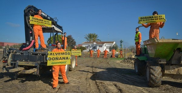Greenpeace Doñana Gas Natural ok